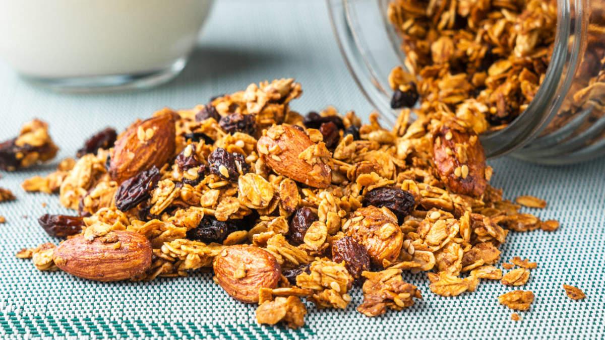 Гранола. Идеальный и  полезный завтрак