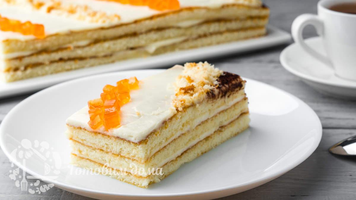 Невероятно быстрый торт «5 Ложек»