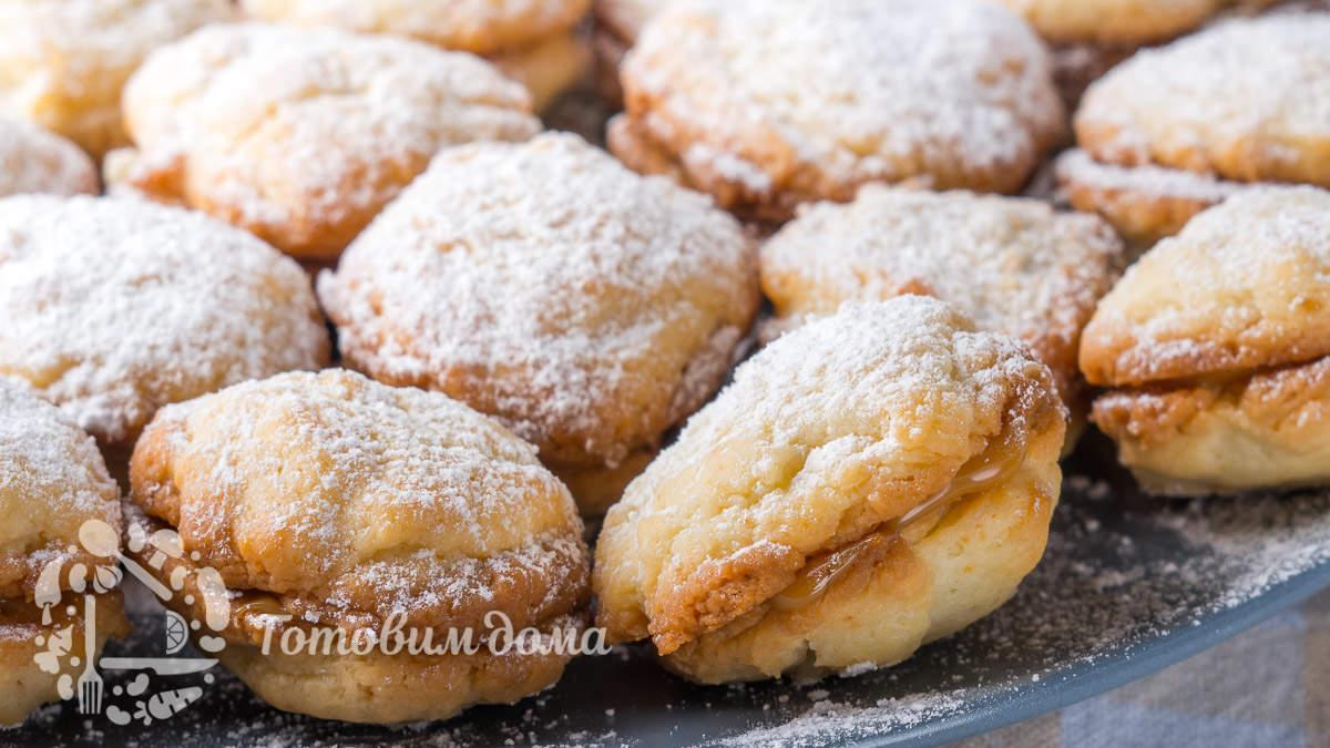 Быстрое домашнее печенье со сгущенкой