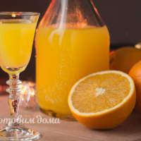 Домашний апельсиновый ликер. Простой рецепт