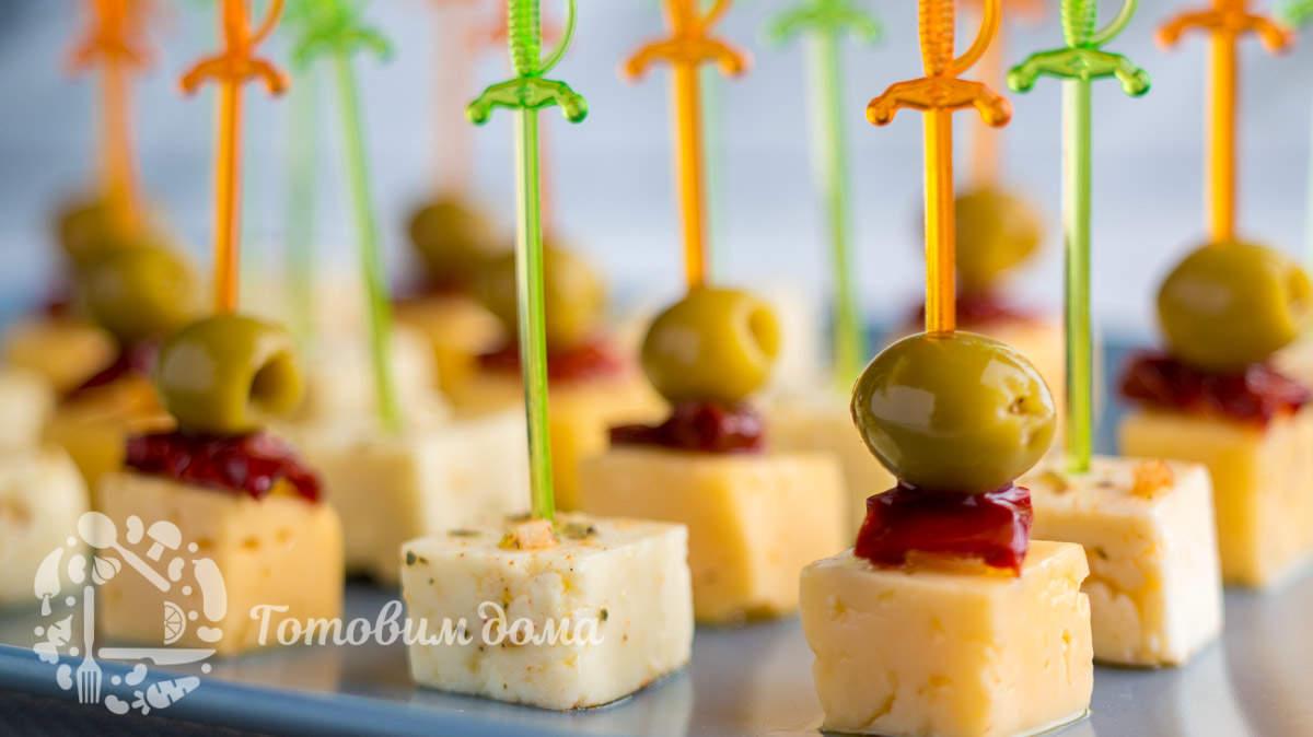 Маринованный сыр. Вкуснейшая закуска на стол