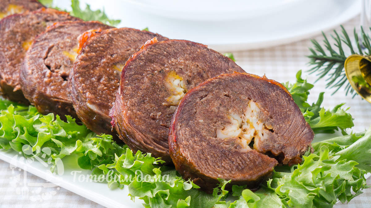 Невероятно вкусный мясной рулет