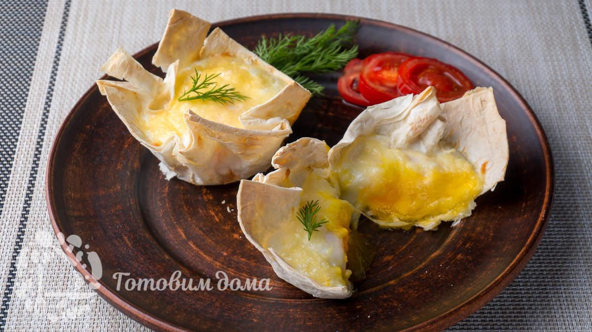 Простой и необычный завтрак из яиц