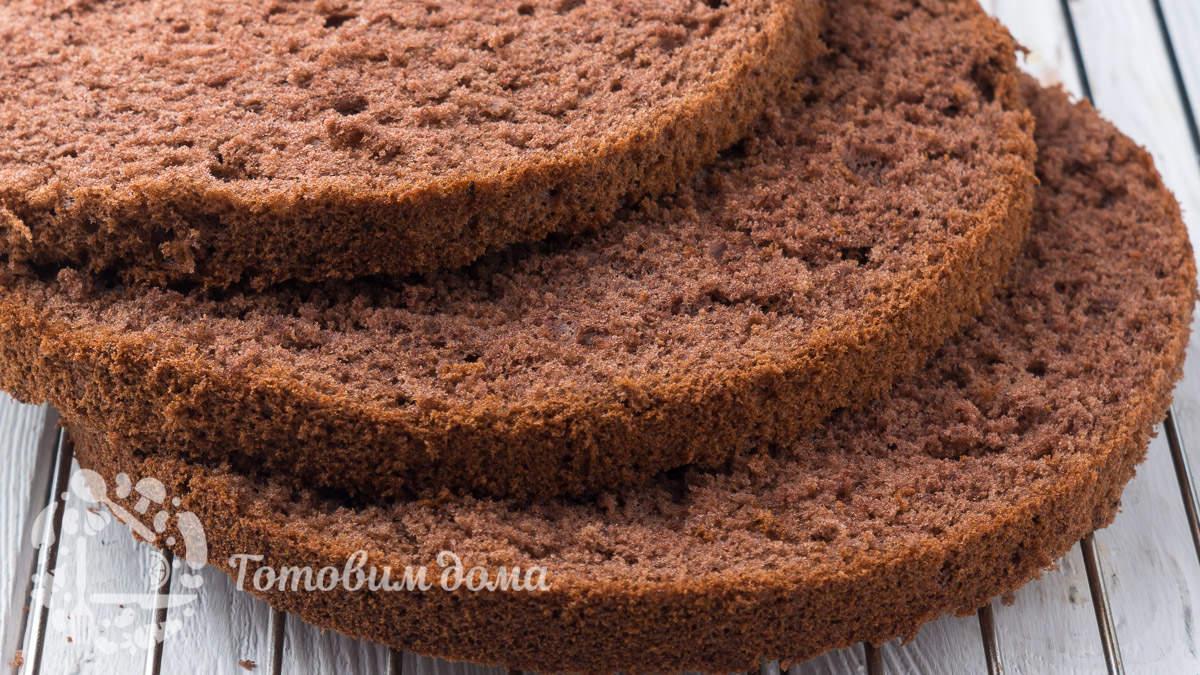 Шоколадный бисквит. Самый простой рецепт!