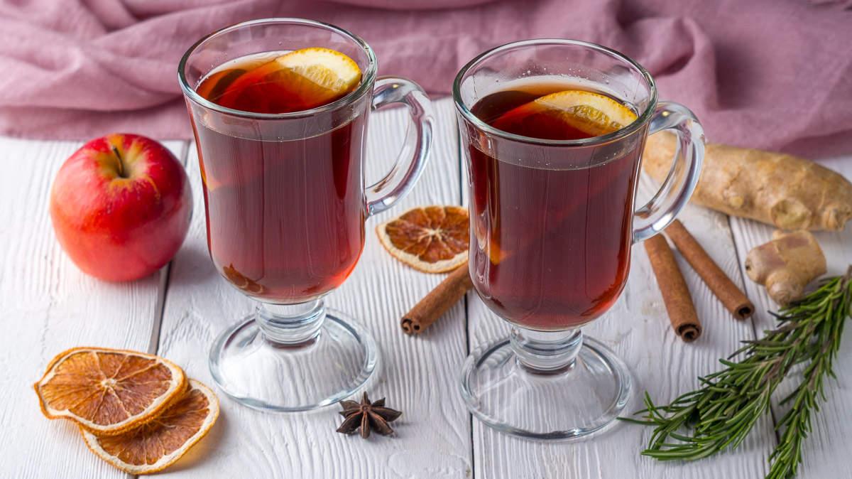 Глинтвейн алкогольный и безалкогольный. 2 рецепта