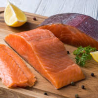 Малосольная красная рыба. Вкусно и легко