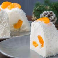 Торт с Мандаринами без выпечки