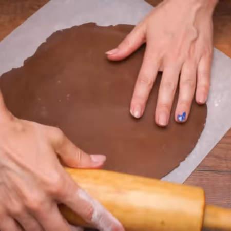 Должен получиться тонкий пласт толщиной 1,5-2 мм.