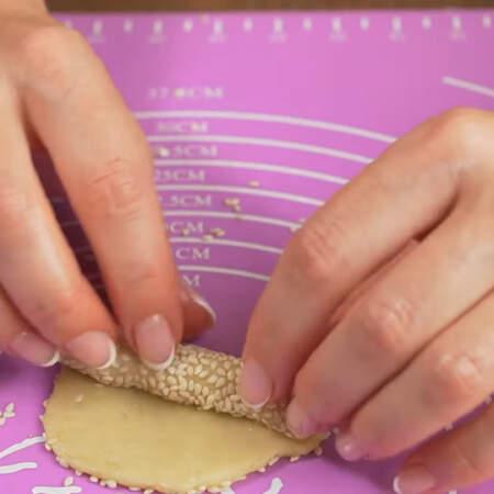 Так формируем все печенья.