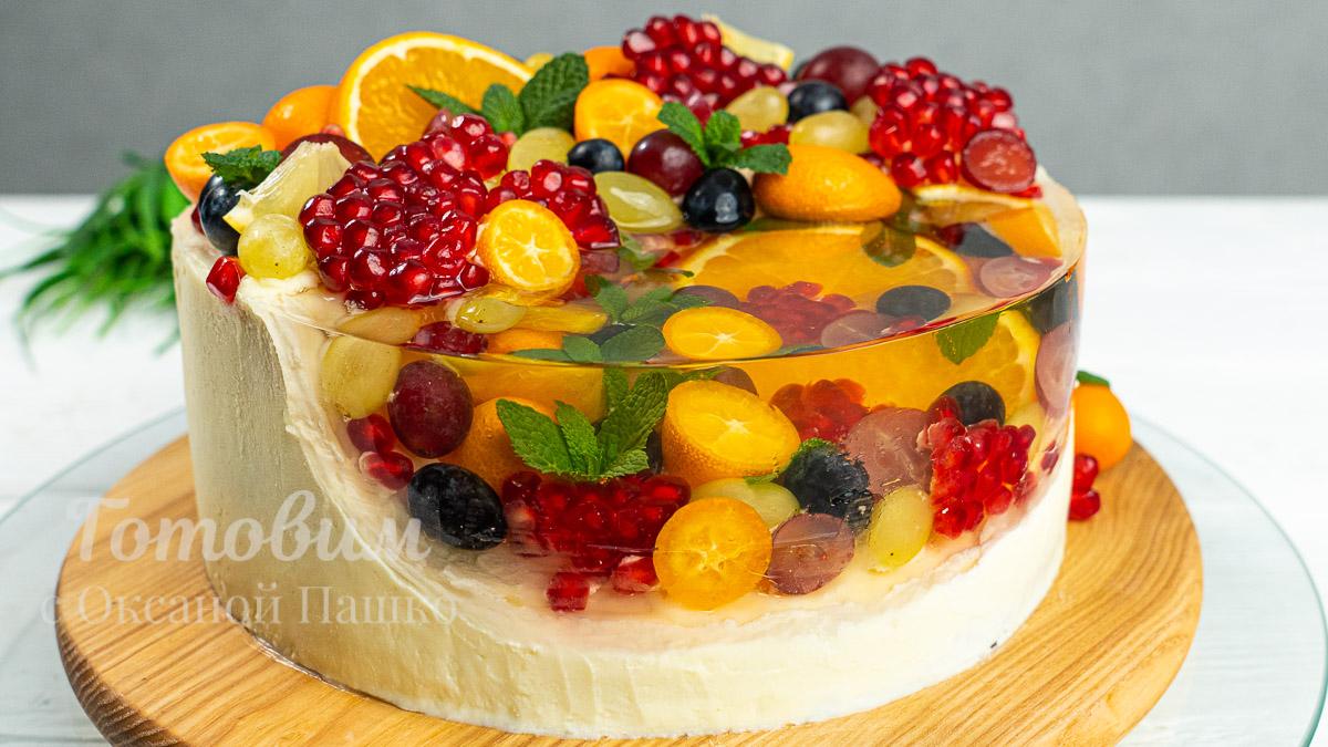 Поразительный Торт с Фруктами