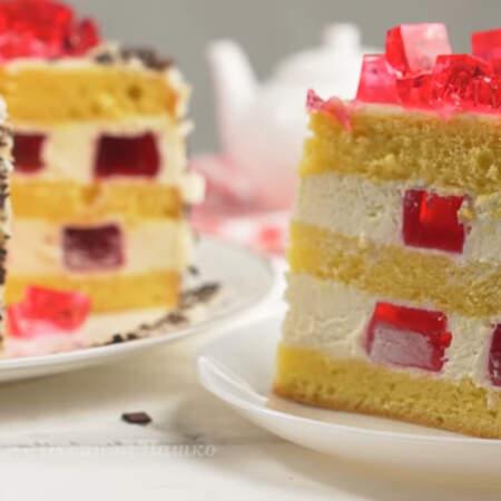 От такого торта просто невозможно оторваться.
