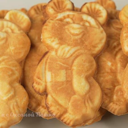 Печенье Олимпийский мишка получилось вкусным и красивым. Готовится из доступных продуктов.