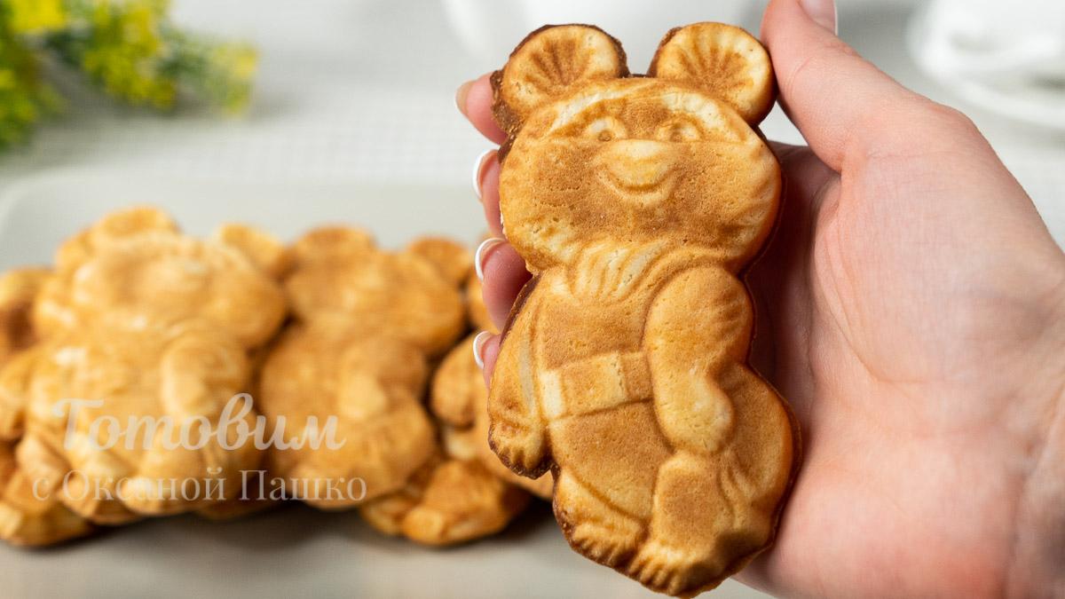 Печенье Олимпийские Мишки
