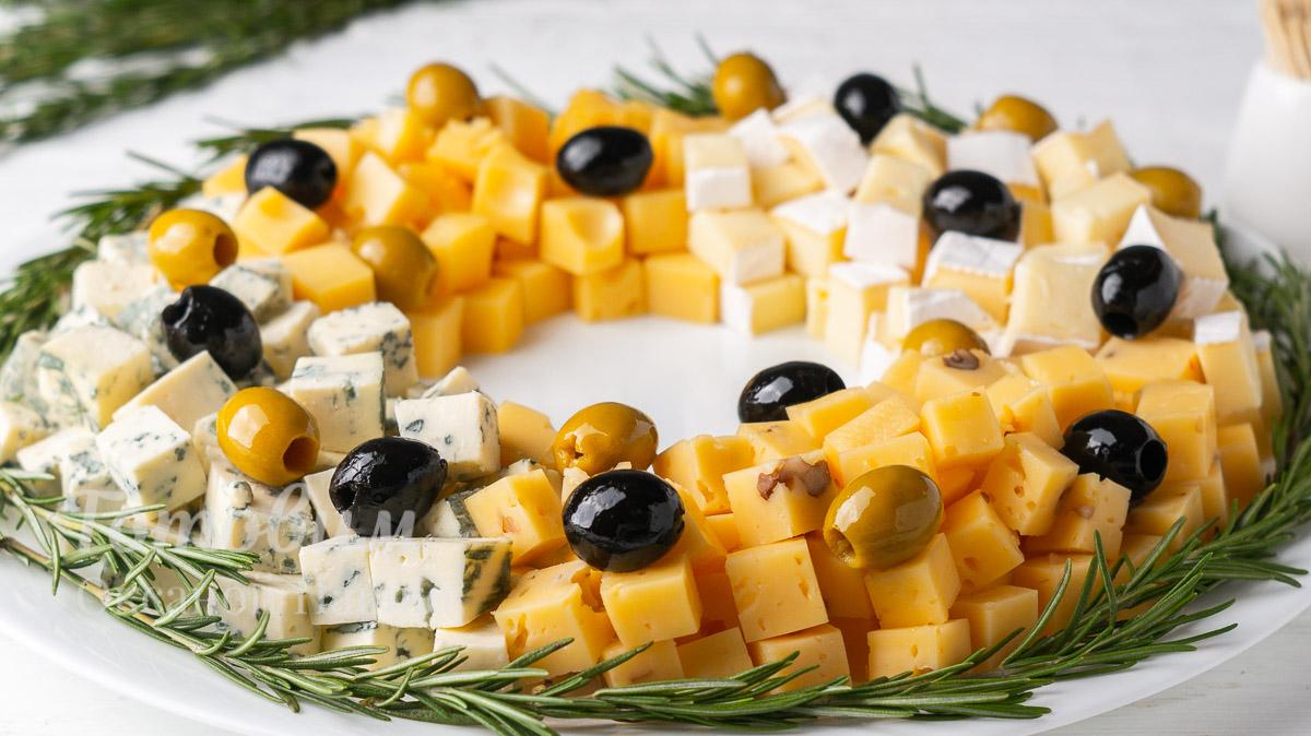 Сырная Тарелка на Рождество