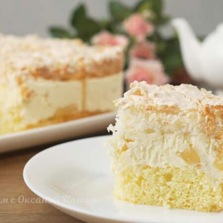 Обязательно приготовьте такой торт, это очень вкусно.