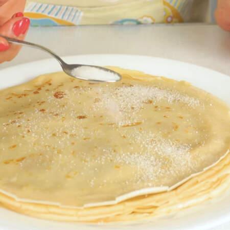 Но самый просто вариант начинки для блинов это варенье, джем, мед или просто сахар.