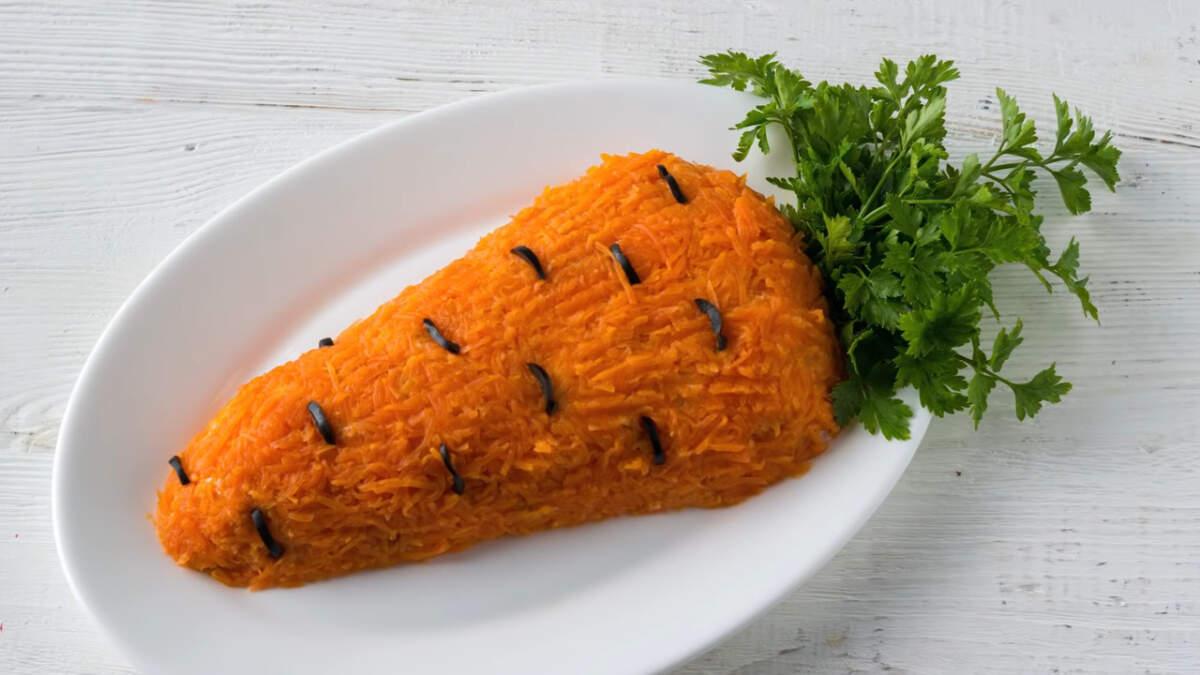Салат получился очень вкусным, сочным и сытным.