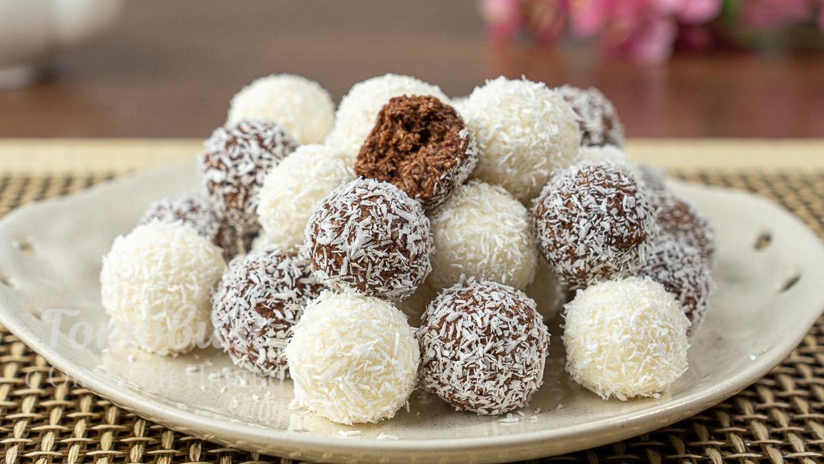 Творожно-Кокосовые Шарики. Десерт за 10 минут