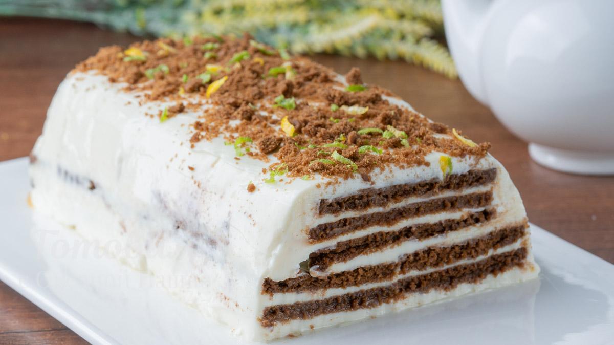 Торт без Выпечки и без Желатина