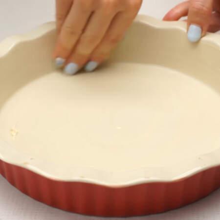 Форму для запекания смазываем сливочным маслом