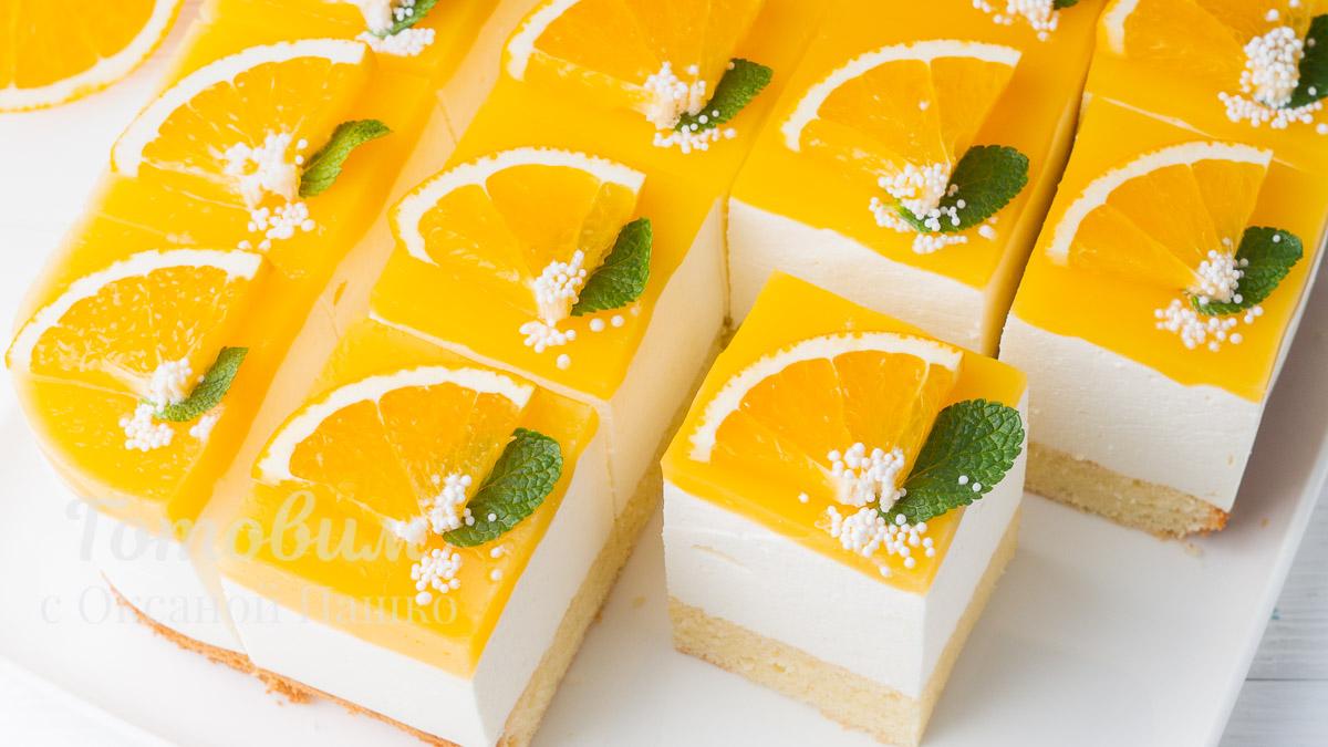 Апельсиновый ТОРТ на День Рождения