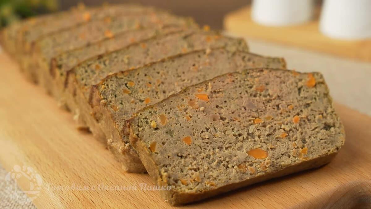 Печеночное суфле получилось очень нежным и вкусным. Готовится просто и достаточно быстро. Главное дождаться пока все испечется. Такое суфле можно использовать вместо колбасы, положив его на хлеб или даже намазать как паштет.